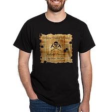 Corkscrew Pirates Island Sailing T-Shirt