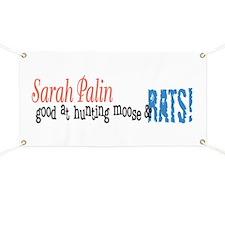 Sarah Palin Hunter Banner