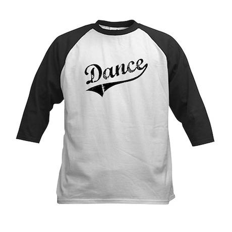 Athletic Dance Kids Baseball Jersey
