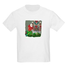 Santa's Helper Weimaraner T-Shirt