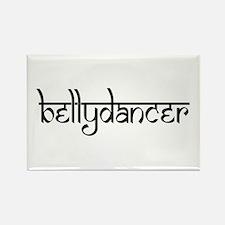 bellydancer Rectangle Magnet