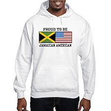 Proud To Be Jamaican American Hoodie