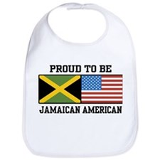 Proud To Be Jamaican American Bib