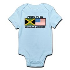 Proud To Be Jamaican American Infant Bodysuit