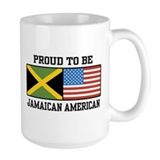 Proud To Be Jamaican American Mug