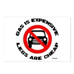 Anti-car Pro-walking Postcards (Package of 8)