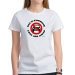 Anti-car Pro-walking Women's T-Shirt