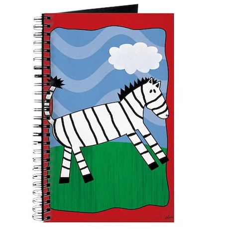 Quirky Zebra Journal