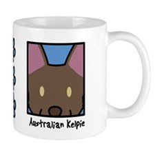 Anime Australian Kelpie Mug