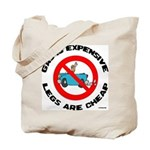 Cheaper Than Gasoline Tote Bag