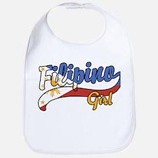 Filipino Girl Bib