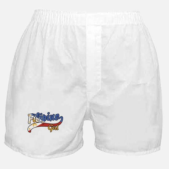 Filipino Girl Boxer Shorts