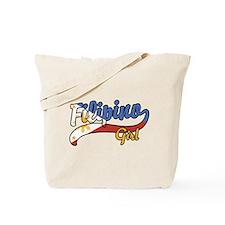 Filipino Girl Tote Bag