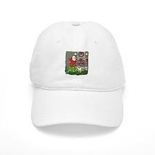 Santa's Helper Sheltie Baseball Cap