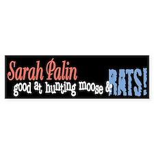 Sarah Palin Hunter Bumper Sticker