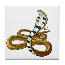 King Cobra 2 Tile Coaster