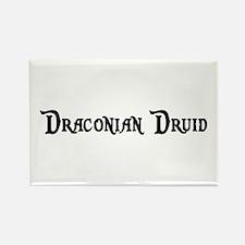 Draconian Druid Rectangle Magnet