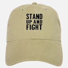 Stand Fight Baseball Baseball Cap
