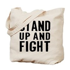 Stand Fight Tote Bag
