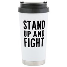 Stand Fight Travel Mug