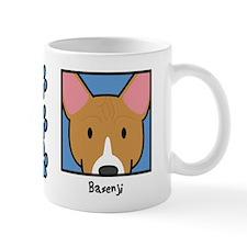 Anime Basenji Small Mug