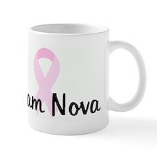 Team Nova pink ribbon Mug