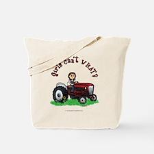 Light Red Farmer Tote Bag
