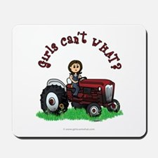 Light Red Farmer Mousepad