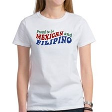 Proud to be Mexican and Filipino Tee