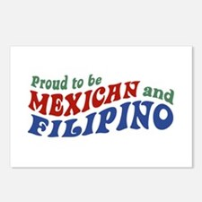 Proud to be Mexican and Filipino Postcards (Packag