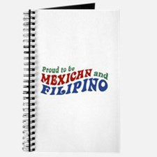 Proud to be Mexican and Filipino Journal