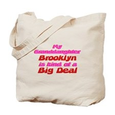 Granddaughter Brooklyn - Big Tote Bag
