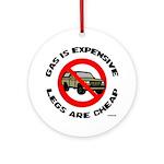 Expensive Gas/Anti-SUV Keepsake (Round)