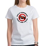 Expensive Gas/Anti-SUV Women's T-Shirt