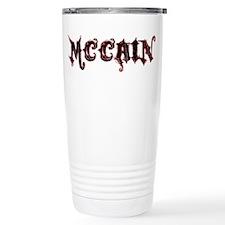 McCain Grunge Logo Travel Coffee Mug