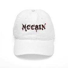 McCain Grunge Logo Baseball Cap