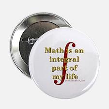 "Math is integral 2.25"" Button (10 pack)"