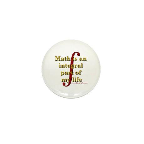 Math is integral Mini Button (100 pack)