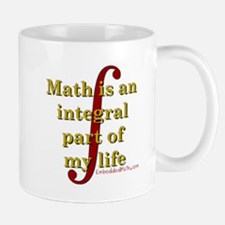Math is integral Small Small Mug