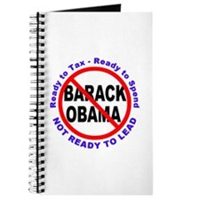 Anti Barack Obama Not Ready Journal