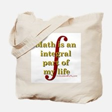 Math is integral Tote Bag
