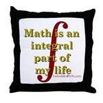 Math is integral Throw Pillow