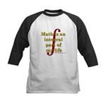 Math is integral Kids Baseball Jersey