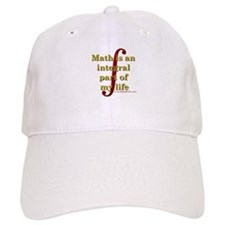 Math is integral Baseball Baseball Cap