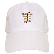 Math is integral Baseball Cap