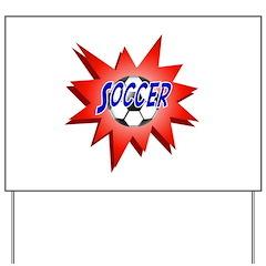 Soccer USA Yard Sign