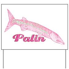 Palin Barracuda Retro Yard Sign