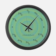 Funny Trigonometry radians Large Wall Clock