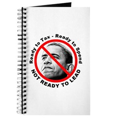 Anti Barack Obama Not Ready Journal