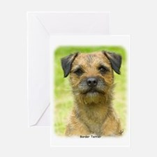 Border Terrier 8W44D-23 Greeting Card